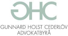 Gunnard Holst Cederlöv Advokatbyrå Logo